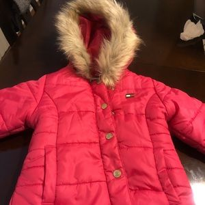 Toddler Girl Winter Tommy Hilfiger Coat